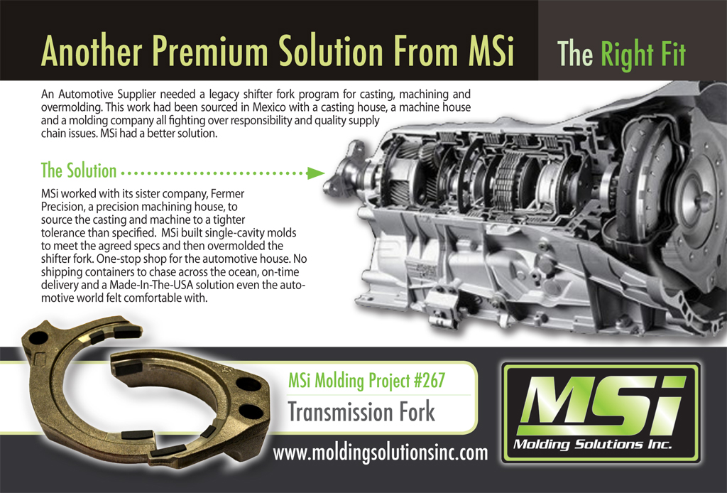 Home | Plastic Injection Molding Solutions - MSi